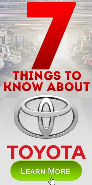7 Things to know about Toyota