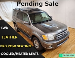 2004 Toyota Sequoia Limited Moon Roof SUV