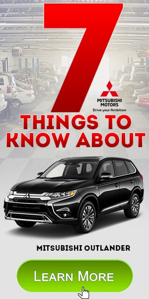 7 Things to know about Mitsubishi Outlander