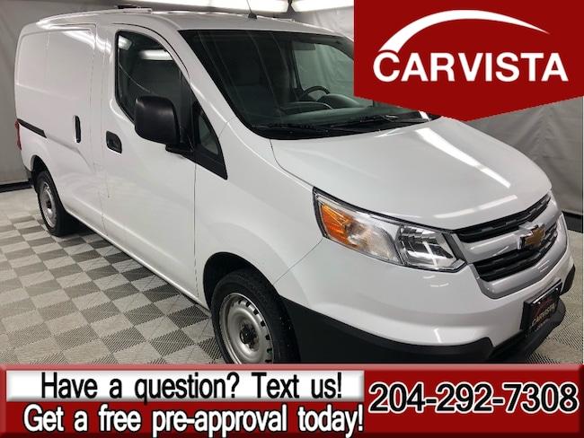 Used 2015 Chevrolet City Express 1LS - NO ACCIDENTS/FACTORY WARRANTY - Minivan in Winnipeg