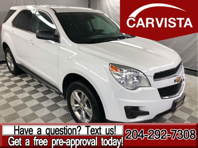 Used 2014 Chevrolet Equinox LS - NO ACCIDENTS/FACTORY WARRANTY - SUV in Winnipeg
