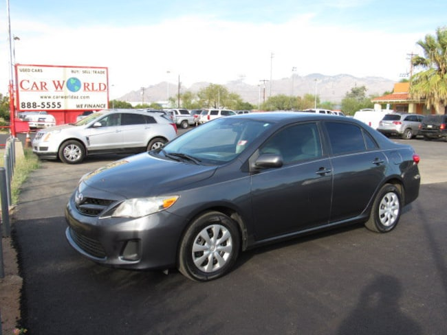 Used 2011 Toyota Corolla For Sale Tucson Az