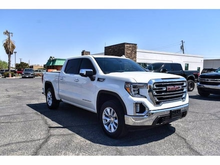 Featured Used 2019 GMC Sierra 1500 SLT Truck Crew Cab for Sale near Fort Bliss, TX