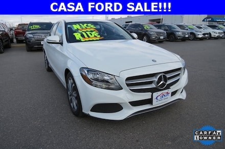Featured Used 2017 Mercedes-Benz C-Class C 300 Sedan for Sale near Fort Bliss, TX