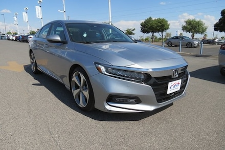 Featured Used 2018 Honda Accord Touring Sedan for Sale near Fort Bliss, TX