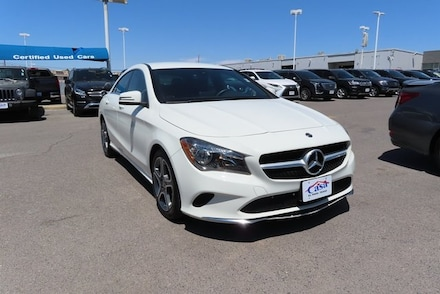 Featured Used 2018 Mercedes-Benz CLA CLA 250 Sedan for Sale near Fort Bliss, TX