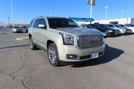 Featured Used 2017 GMC Yukon Denali SUV for Sale near Fort Bliss, TX