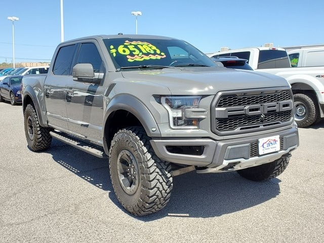Featured Used 2018 Ford F-150 Raptor Truck for Sale near Fort Bliss, TX