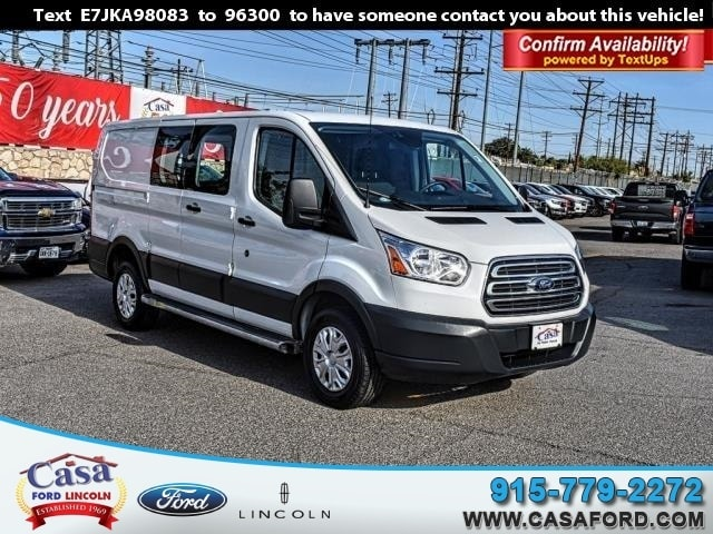Featured Used 2018 Ford Transit-250 Base Cargo Van for Sale near Fort Bliss, TX