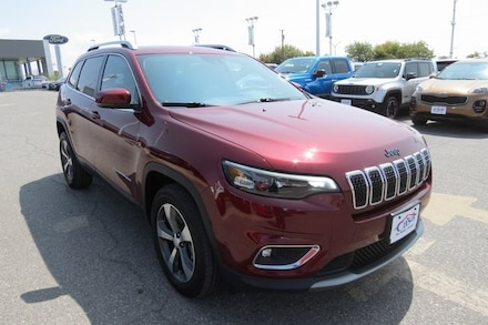 Featured Used 2019 Jeep Cherokee Limited SUV for Sale near Fort Bliss, TX