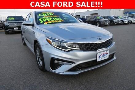 Featured Used 2019 Kia Optima LX Sedan for Sale near Fort Bliss, TX