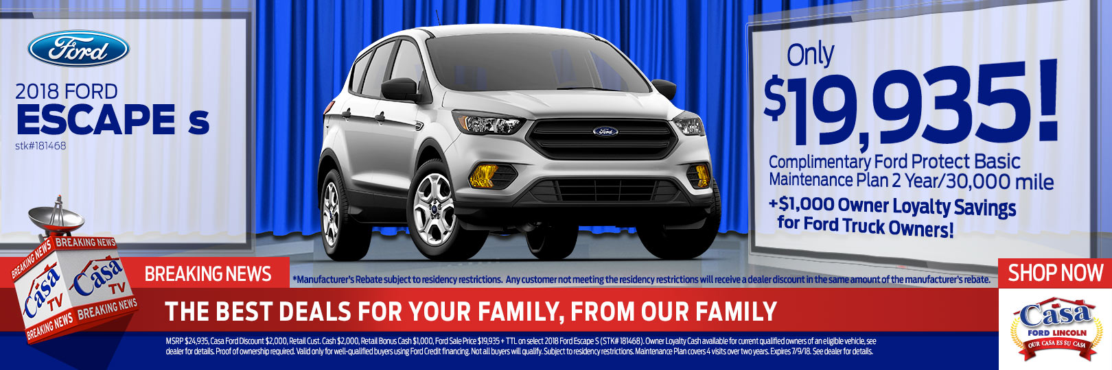 Casa Ford El Paso >> Ford New Vehicle Specials Casa Ford Lincoln