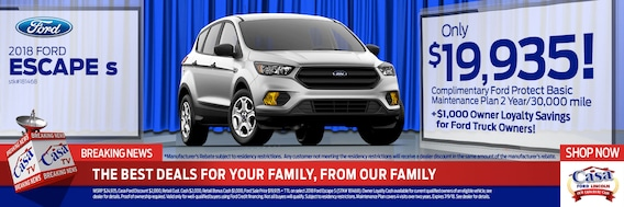 Casa Ford El Paso Tx >> Ford New Vehicle Specials Casa Ford Lincoln