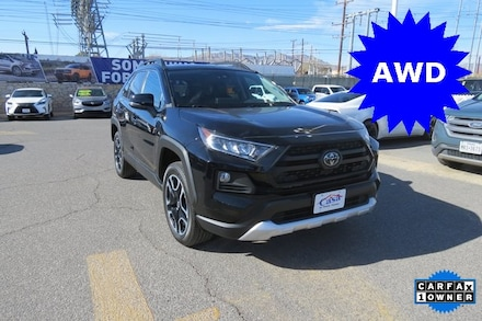 Featured Used 2020 Toyota RAV4 Adventure SUV for Sale near Fort Bliss, TX