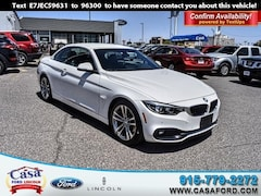 Pre-Owned 2018 BMW 4 Series 430i Convertible WBA4Z1C50JEC59631 for sale in El Paso, TX