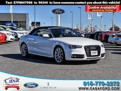 Pre-Owned 2015 Audi A5 2.0T Premium Plus Convertible WAUMFAFH5FN007988 for sale in El Paso, TX