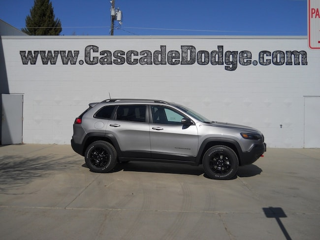 New 2019 Jeep Cherokee TRAILHAWK ELITE 4X4 Sport Utility in Cascade, ID