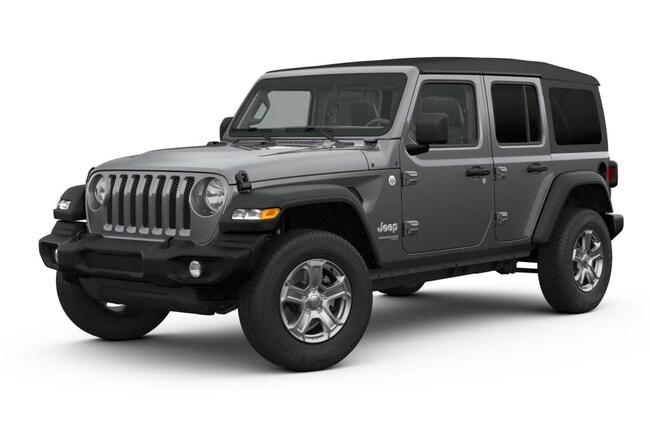 New 2019 Jeep Wrangler UNLIMITED SPORT S 4X4 Sport Utility in Cascade, ID