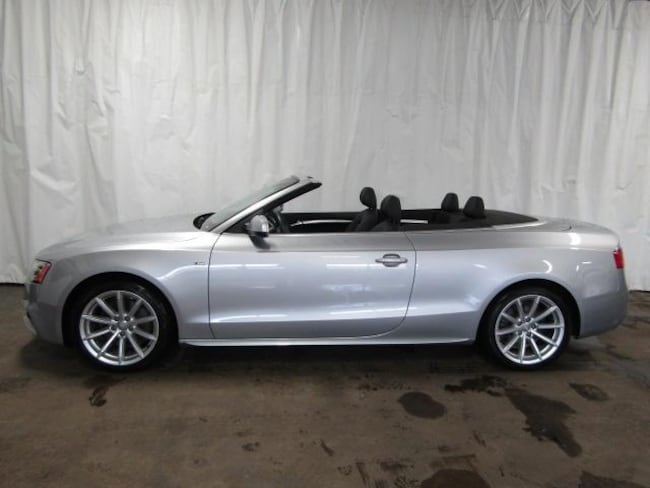2015 Audi A5 2.0T Premium (Tiptronic) Convertible for sale in Cuyahoga Falls