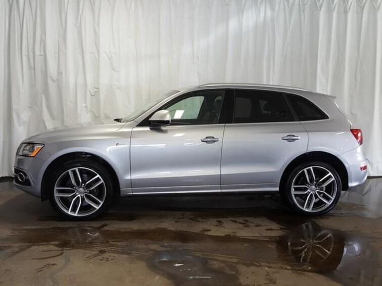 Used 2016 Audi SQ5 quattro  3.0T Premium Plus SUV in Cuyahoga Falls