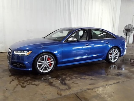 Featured Used 2017 Audi S6 4.0 TFSI Premium Plus Sedan for Sale near Hudson, OH