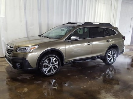 Featured Used 2020 Subaru Outback Touring CVT SUV for Sale near Hudson, OH