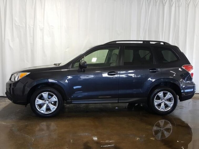 Used 2016 Subaru Forester Cvt 2 5i Premium Pzev For Sale In