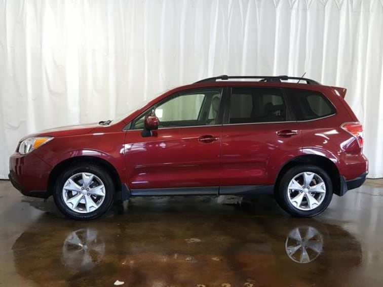 Used 2015 Subaru Forester CVT 2.5i Limited PZEV SUV in Cuyahoga Falls