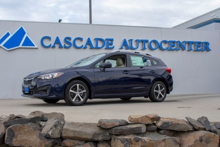 New 2019 Subaru Impreza 2.0i Premium 5-door in Wenatchee