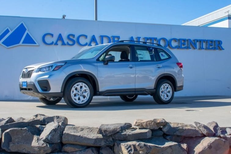 New 2019 Subaru Forester Standard SUV in Wenatchee