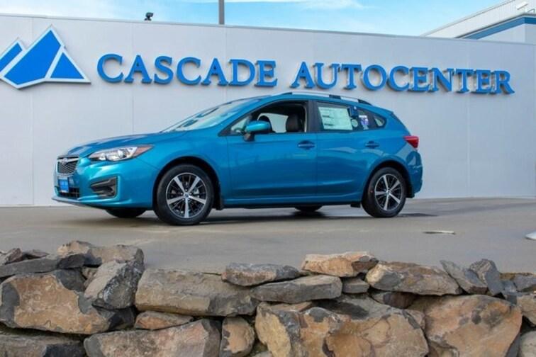 New 2019 Subaru Impreza 2.0i Premium 5-door in Wenatchee