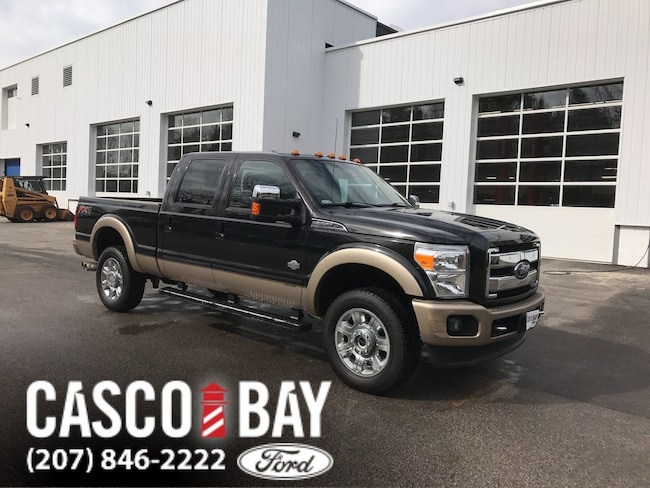 2012 Ford F-350 King Ranch Crew Cab Truck