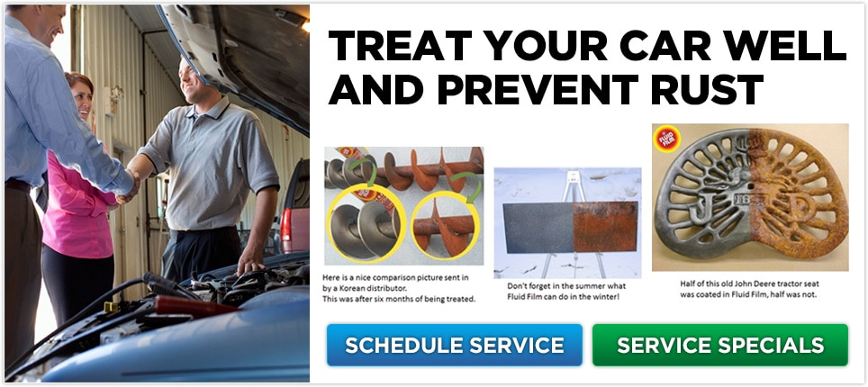 Treat Your Car Well And Prevent Rust