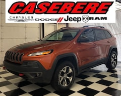 Used 2015 Jeep Cherokee Trailhawk SUV for sale in Bryan OH