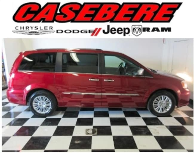 Certified 2015 Chrysler Town & Country Limited Passenger Van for sale in Bryan, OH