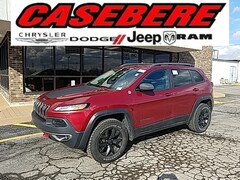 Used 2017 Jeep Cherokee Trailhawk SUV for sale in Bryan OH