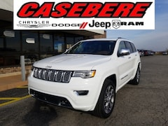 New 2021 Jeep Grand Cherokee OVERLAND 4X4 Sport Utility for sale near Fort Wayne