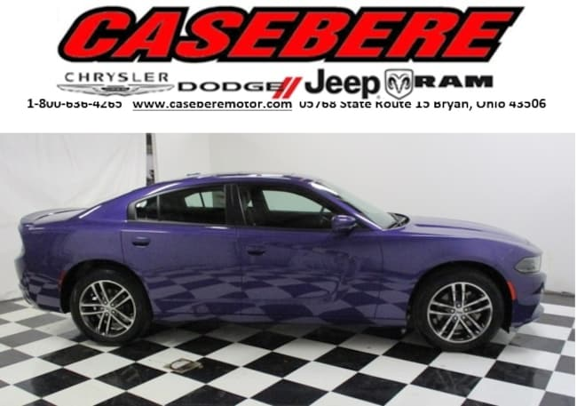new  2019 Dodge Charger SXT AWD Sedan in Bryan OH
