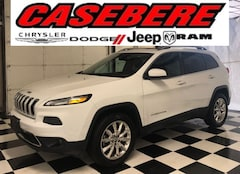 Used 2016 Jeep Cherokee Limited SUV for sale in Bryan OH