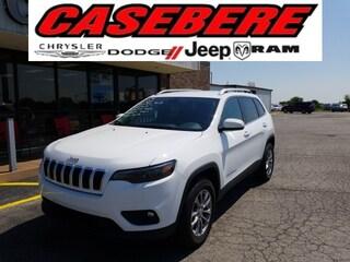New 2020 Jeep Cherokee LATITUDE PLUS 4X4 Sport Utility for sale near Toledo