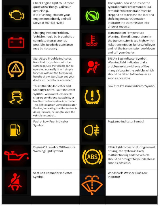 What do My Dash Lights Mean? | Casebere Chrysler Dodge Jeep Ram