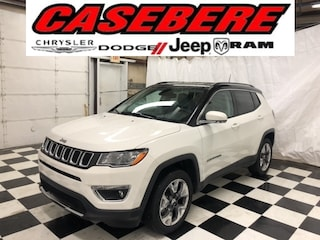 New 2020 Jeep Compass LIMITED 4X4 Sport Utility for sale near Toledo
