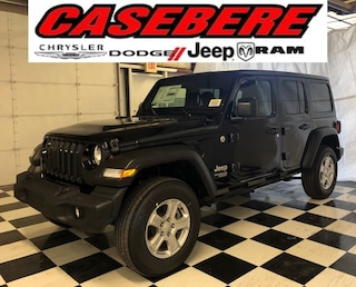 New 2019 Jeep Wrangler UNLIMITED SPORT S 4X4 Sport Utility for sale near Toledo