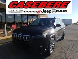 New 2021 Jeep Cherokee LATITUDE PLUS 4X4 Sport Utility for sale near Toledo