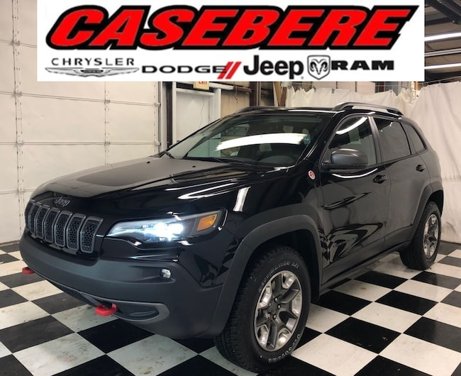 new  2019 Jeep Cherokee TRAILHAWK 4X4 Sport Utility in Bryan OH