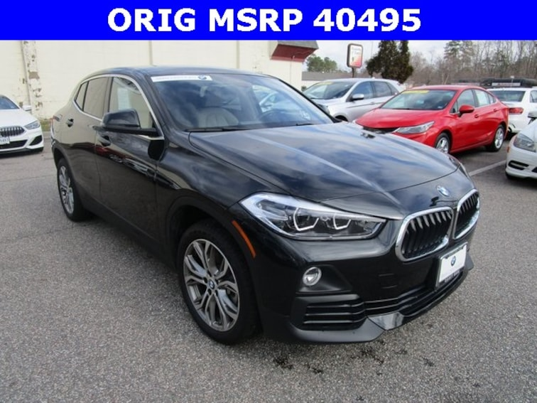 Certified 2018 BMW X2 xDrive28i Sports Activity Coupe Norfolk Area