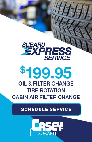 Subaru Express Service | Oil & Filter Change - Cabin Air Filter Change
