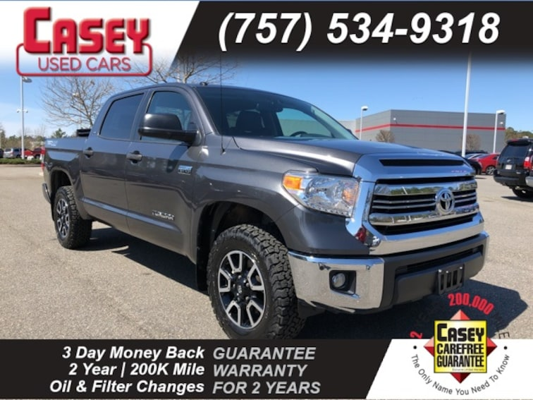 Used 2016 Toyota Tundra Truck CrewMax Norfolk Area