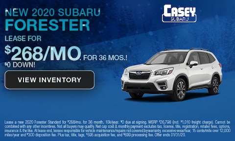 January | 2020 Forester Lease