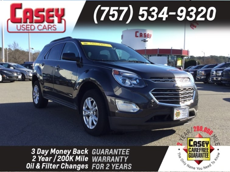 Used 2016 Chevrolet Equinox For Sale In Newport News Virginia